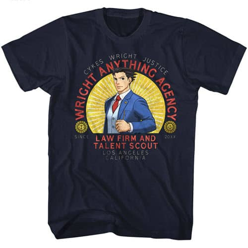 Ace Attorney's Wright Anything Tall Shirt