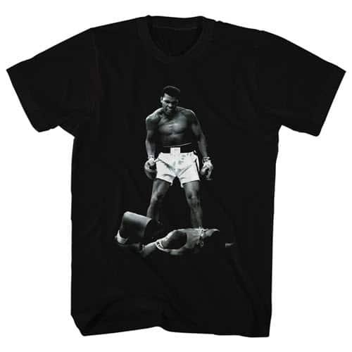 Muhammad Ali Over Liston's Tall Shirt