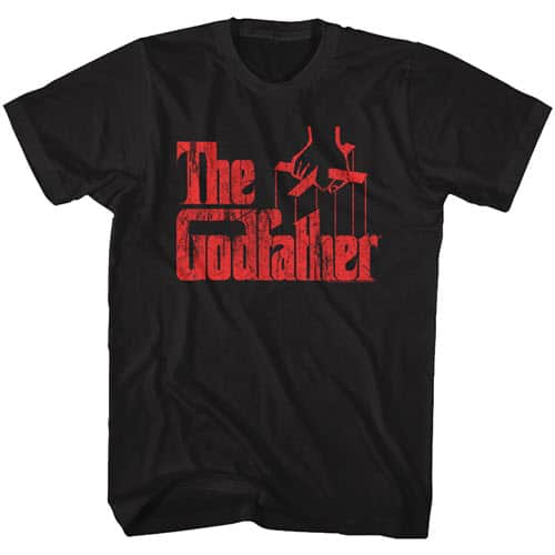 The Godfather Red Logo Tall Graphic Shirt
