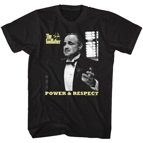 The Godfather's Power and Respect Tall Graphic Shirt