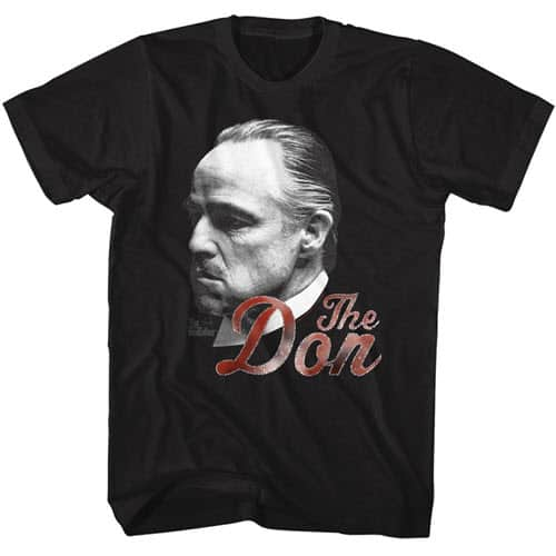 The Godfather's Can't Refuse The Don Tall Graphic Shirt