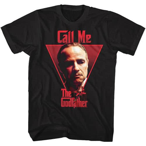 The Godfather's Call Me Tall Graphic Shirt