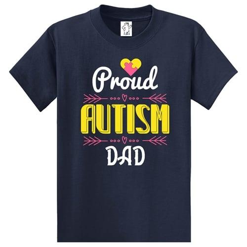 Proud Autism Dad Tall Shirt