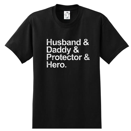 Husband and Daddy | Tall Dad Shirt