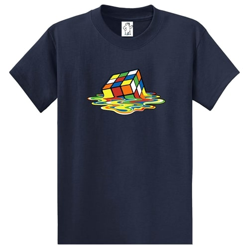 Melting Cube | Tall Graphic Tee
