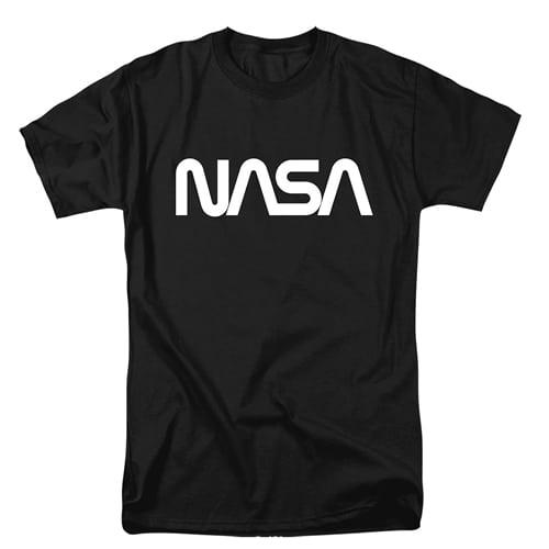 NASA Worm Logo Tall Shirt