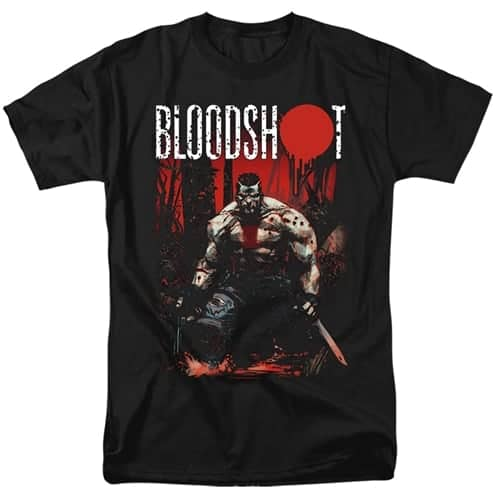 Welcome To The Jungle Tall Bloodshot Shirt