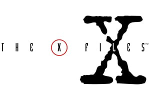 x-files tall logo