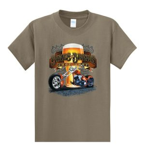 Bikes and Brews Tall Shirt