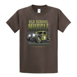 Old School Muscle Tall tshirt