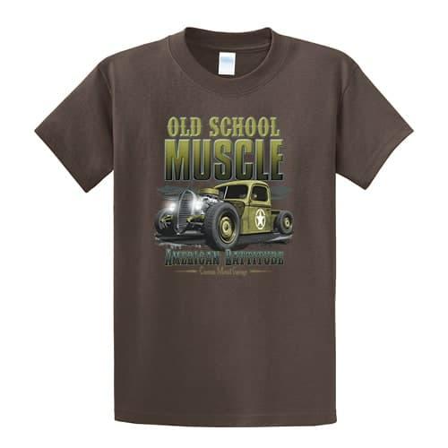 Old School Muscle Tall tshirt