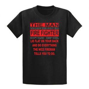 Fire Fighter Tall Shirt