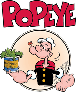 Popeye Tall Shirts